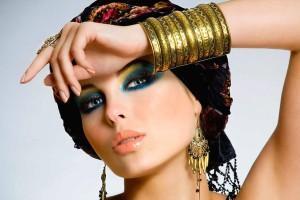 Orientální make-up