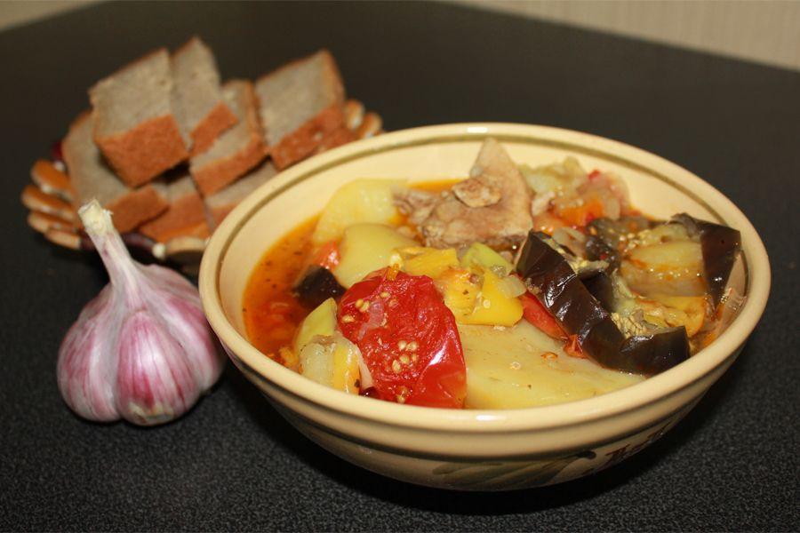 Jehněčí khashlama s bramborami  jak vařit hovězí maso, wikipedia