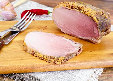 Варено свинско месо в бавна готварска печка