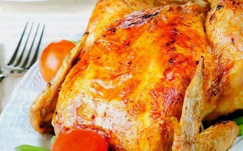 Златно пиле с пълнеж от фурна