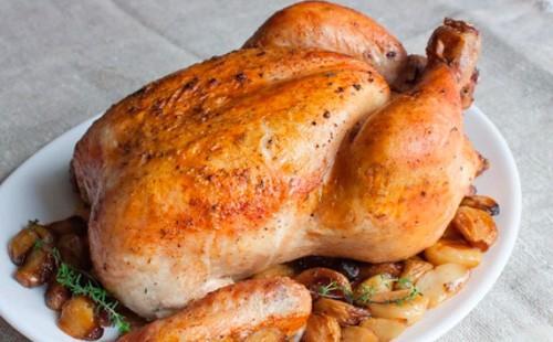 Пиле с гарнитура от картофи