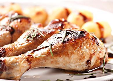 Печени пилешки крака