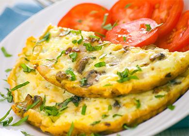 Jak vyrobit omeletu v mikrovlnné troubě steam parní omeletu bez mléka