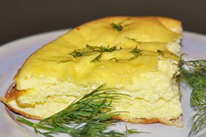 Omeleta s bylinkami