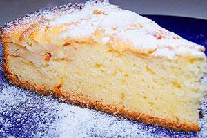 Tvarohový koláč se krupicí
