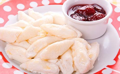 Líné knedlíky s tvarohem  recept na klasické knedlíky, jak vařit chutné knedlíky