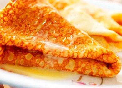 Palačinky s máslem