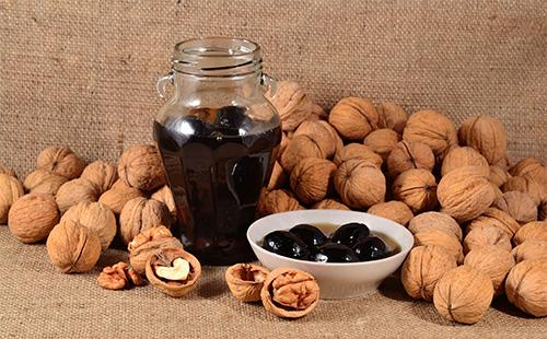 Pähkinähillo purkissa