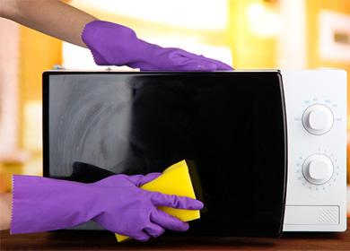 Mikrovlnné čištění