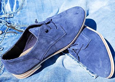 Modré boty z písně Elvisa Presleyho