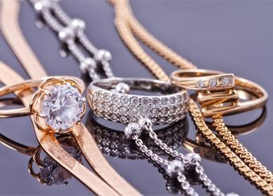 Златни вериги и пръстени