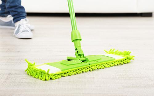 Zelený mop