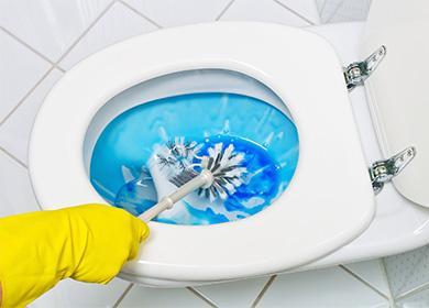 Umyjte záchod
