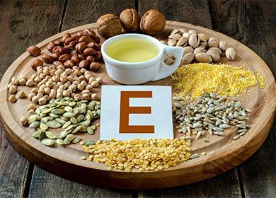 Продукти с витамин Е