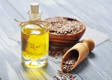 Lněná semena a olej