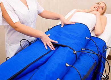 Пресотерапия на долния торс
