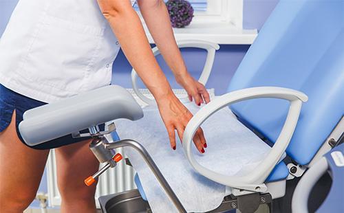 Gynekologinen tuoli
