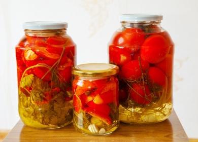 Три кутии консервирани домати