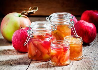 Ябълково сладко в буркан