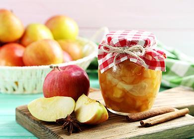 Ябълково сладко в красив буркан