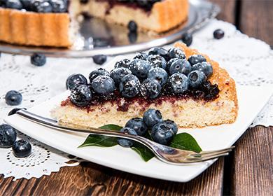 Otevřete borůvkový koláč