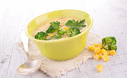 Brokolice polévka