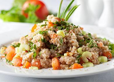 Каша със зеленчуци