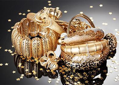 Zlaté předměty