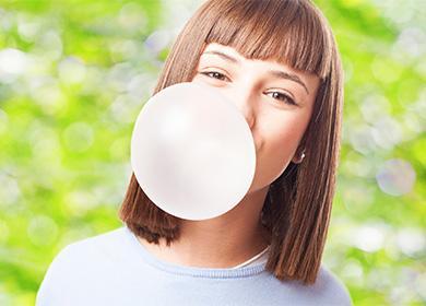 Bubble gumová koule
