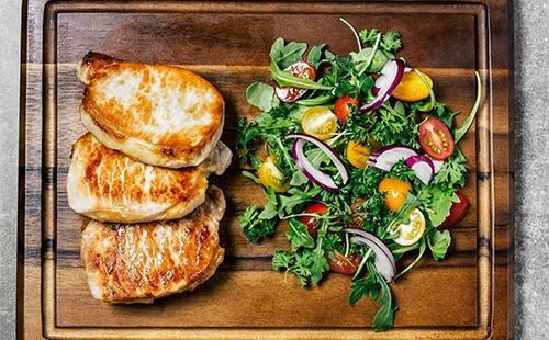 Pečené maso se zeleninou