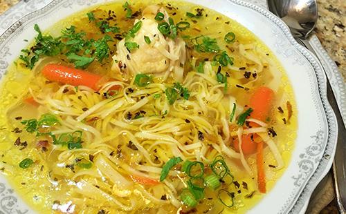 Супа от пиле от Vermicelli