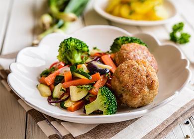 Кюфте със зеленчуци