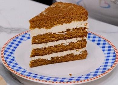 Vaření piškotový dort s receptem s fotografií.