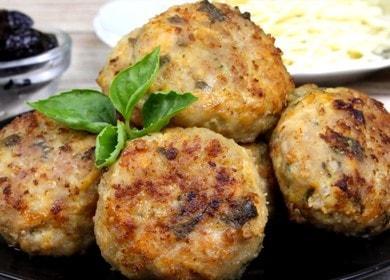 Vaření jemných krůtových řízků v peci podle postupného receptu s fotografií.