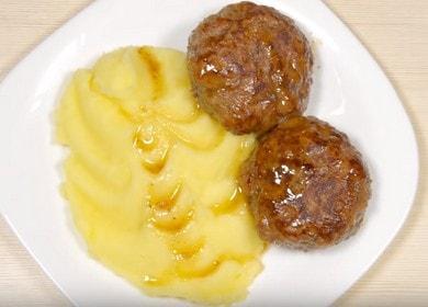 Herkullisimmat naudanlihan ja sianlihan lihapullien reseptit: keitä askel askeleelta valokuvien avulla.