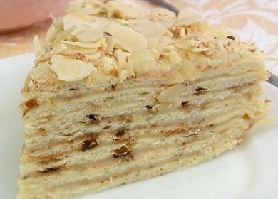 Naučte se, jak připravit Napoleon dort na pánvi