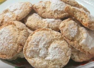 Vaření voňavé italské cookie recept s fotografií.