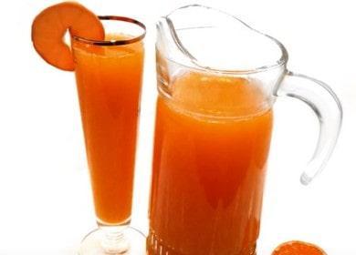 Valmistamme kotona reseptin mukaan tuoksuttavan mandariinivalmisteen valokuvan kanssa.