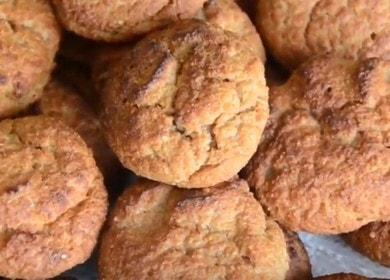 Готвене на проста и вкусна протеинова рецепта за бисквитки със снимка.