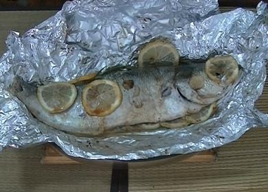 Много вкусна риба във фолио във фурната: готвим според рецепта стъпка по стъпка със снимка.