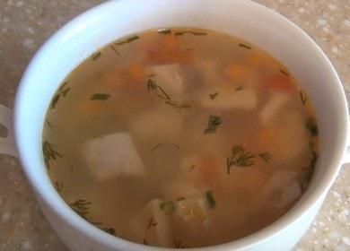 Připravujeme voňavou polévku červených ryb podle postupného receptu s fotografií.