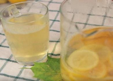 Правилно приготвяне на чай с джинджифил и лимон: рецепта със стъпка по стъпка снимки.