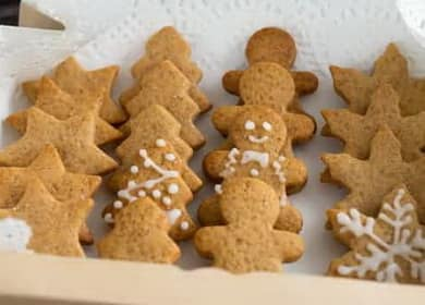 Perníkové sušenky - recept na perníčky