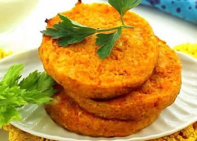 Porkkanapeletit: resepti valokuvalla askel askeleelta