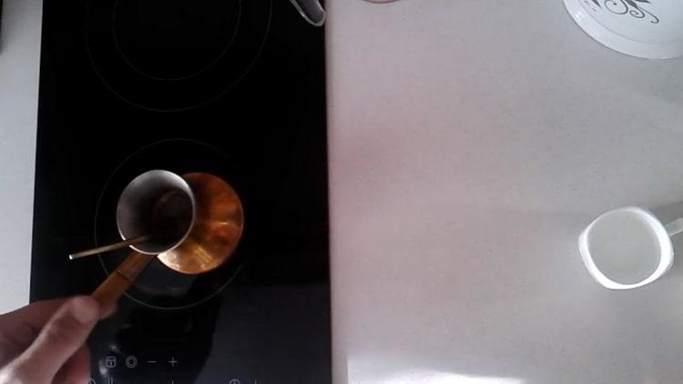 Káva s kardamomem není těžké vařit