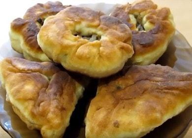 Готвене на вкусни белтъци в кефир в тиган според рецептата със снимка.