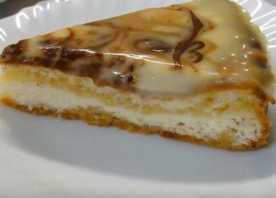 Chutný maďarský tvarohový koláč: připravuje lahodný dezert podle postupného receptu s fotografií.