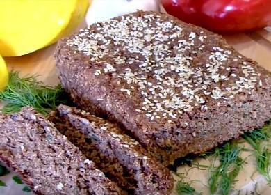 Velmi zdravý a lahodný chléb bez otrub