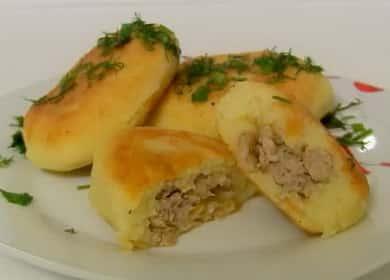 Питки с картофено пюре: рецепта стъпка по стъпка със снимка