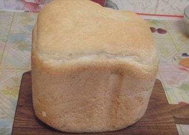 Osvědčený recept na chléb v chlebovém stroji Mulinex: příprava s postupnými fotografiemi a videi.